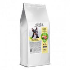 Home Food беззерновой корм для активних, дорослих собак середніх порід з ягням, качкою та яблуком 1 кг.