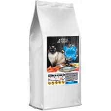 Home Food гипоаллергенный сухой корм для взрослых кошек SENSITIVE МОРСКОЙ КОКТЕЙЛЬ 0,4 кг.