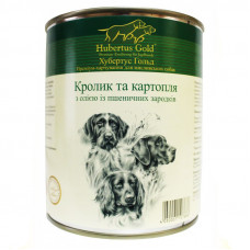 Hubertus Gold консервы для собак с кроликом и картофелем 0,8 г