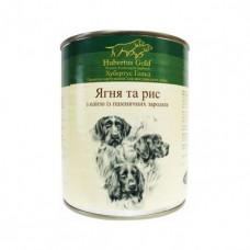 Hubertus Gold консервы для собак с ягненком и рисом 0,8 г