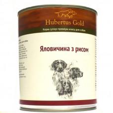 Hubertus Gold консервы для собак с говядиной и рисом 0,8 г