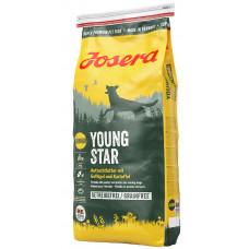 Josera YoungStar Grainfree беззерновой сухой корм для подростающих собак с картошкой и птицей 0,9 кг.