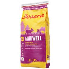 Josera Miniwell (Йозера Минивель) сухой корм для взрослых собак мелких пород 15 кг.