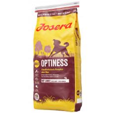 Josera Optiness (Йозера Оптинес) сухой корм для взрослых собак с пониженным содержанием белка 15 кг