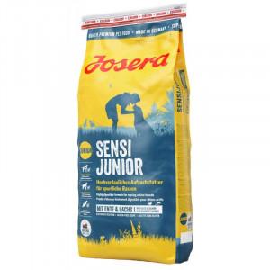 Josera Sensi Junior сухой корм для подростающих собак с уткой и лососем 15 кг.