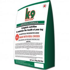 K9 Selection Growth Formula профессиональный корм для щенков всех пород 12 кг