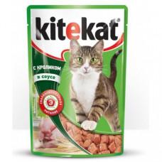 Kitekat (Китикет) консервы для кошек с кроликом 100г