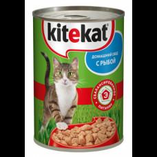 Kitekat (Китикет) консервы для кошек с рыбой 400г