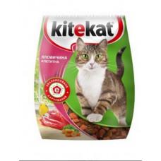 Kitekat (Китикет) сухой корм для кошек говядина аппетитная 13кг