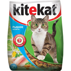 Kitekat (Китикет) сухой корм для кошек рыбное ассорти 13кг