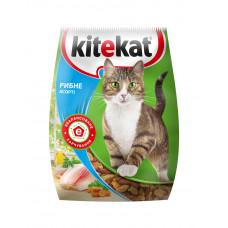 Kitekat (Китикет) сухой корм для кошек рыбное ассорти 1кг