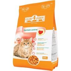 Клуб 4 Лапы Hairball сухой корм для котов 0,4 кг