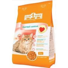 Клуб 4 Лапы Hairball сухой корм для котов 3 кг
