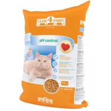 Клуб 4 Лапы PH-Control сухой корм для котов 11 кг