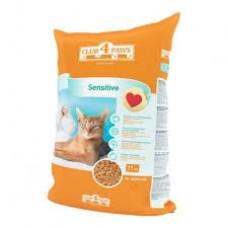 Клуб 4 Лапы Sensitive сухой корм для котов 11 кг