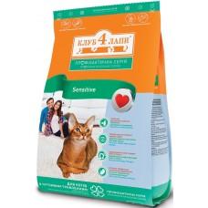 Клуб 4 Лапы Sensitive сухой корм для котов 3 кг