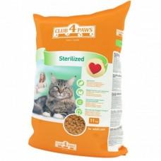 Клуб 4 Лапы Sterilized сухой корм для котов 11 кг