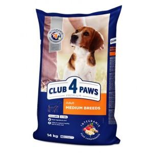 Клуб 4 Лапы для взрослых собак средних пород 14 кг
