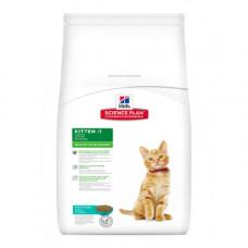 Hills SP Kitten Healthy Development сухой кормдля поддержания иммунитета и здоровья пищеварения у котят с тунцом 0,3 кг