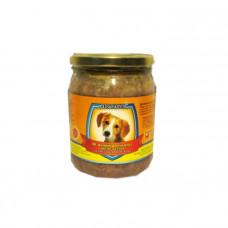 Леопольд, консервы корм для собак, мясные деликатесы с курицей и морквой 0,5 кг.