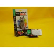АкароKILL (АкароКилл) капли для котов от блох, клещей, вшей и власоедов 0,7 мл 1 пипетка