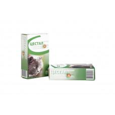 Таблетки Ceva Цестал Кет от глистов для кошек 1 х 10 таб (цена за 1 таб.)