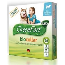 Green Fort neo БиоОшейник от блох и клещей для собак крупных пород 80 см.