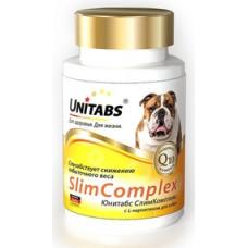 Unitabs Slim Complex с Q10 для собак 100 таб.