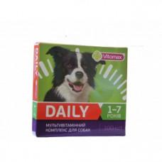 DAILY (Дейли) витамины для собак 1-7 лет 100 табл. (100г)
