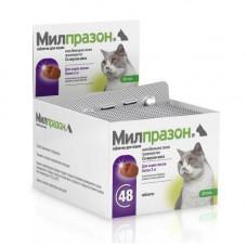 KRKA Milprazon - препарат против глистов Милпразон для кошек и котят 4 таб.