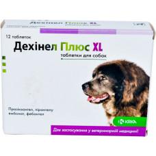 Дехинел Плюс KRKA XL таблетки для собак 12 таб.