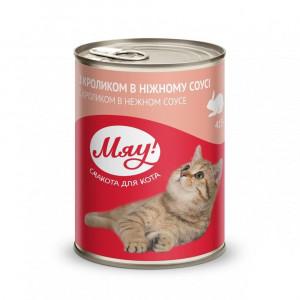Мяу! консервы для котов с кроликом 0,415 кг