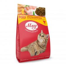 Мяу! сухой корм для котов с курицей 0,4 кг