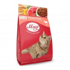 Мяу! сухой корм для котов с мясом 0,4 кг