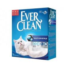 Ever Clean (Эвер Клин) MULTI CRYSTALS (МУЛЬТИ КРИСТАЛ) бентонитовый наполнитель для котов, 6 л