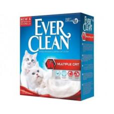 Ever Clean (Эвер Клин) MULTIPLE CAT (ДЛЯ НЕСКОЛЬКИХ КОШЕК С КРИСТАЛАМИ) бентонитовый наполнитель для котов, 6 л