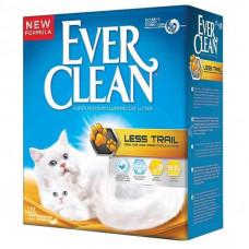 """Ever Clean (Эвер Клин) Less Trail - Наполнитель комкующийся """"Чистые лапки"""" для длинношерстных кошек 10 л."""