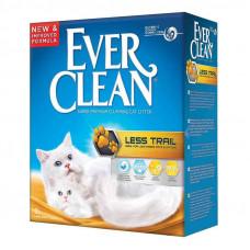 """Ever Clean (Эвер Клин) Less Trail - Наполнитель комкующийся """"Чистые лапки"""" для длинношерстных кошек 6 л."""
