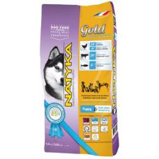 Natyka Gold Puppy & Small Dogs полувлажный корм для щенков и собак мелких пород 4,5 кг