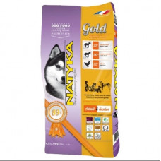Natyka Gold Lamb & Rice полувлажный корм для собак на всех этапах жизни с ягненком и рисом 4,5 кг