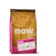 NOW беззерновой сухой корм для взрослых кошек с индейкой, уткой и лососем 1,81 кг