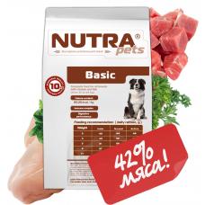 NUTRA pets Regular BASIC сухой корм для взрослых собак средних и крупных пород 10 кг