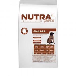 NUTRA pets Regular Giant Adult S сухой корм для взрослых собак крупных пород 24 кг