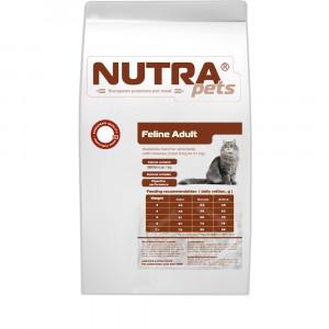NUTRA pets Feline Adult Chicken сухой корм для взрослых котов с курицей 5 кг