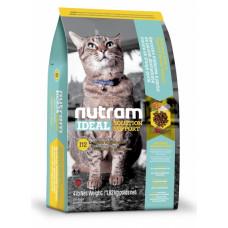 Nutram Ideal Solution Support Weight Control Cat корм для взрослых котов склонных к ожирению с курицей 1,13 кг.