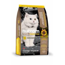 Nutram TOTAL GF Salmon & Trout Cat беззерновой корм для кошек с лососем и форелью 5,4 кг.