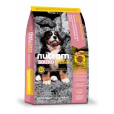 Nutram Sound Balanced Wellness Puppy сухой корм для щенков с курицей и овсянкой 11,4 кг.