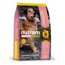 Nutram Sound Balanced Wellness Adult Dog сухой корм для взрослых собак с курицей и коричневым рисом 5 кг.