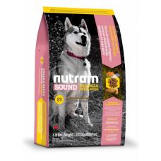 Nutram Sound Balanced Wellness Lamb & Rise сухой корм для взрослых собак с ягненком и ячменем 11,4 кг.