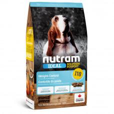 Nutram Ideal Solution Support Weight Control сухой корм для собак склонных к ожирению с курицей 11,4 кг.